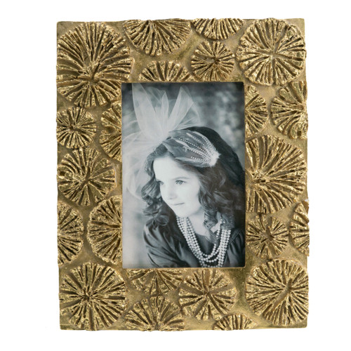"""Vintage Inspired Photo Frame, 4x6"""" Opening"""