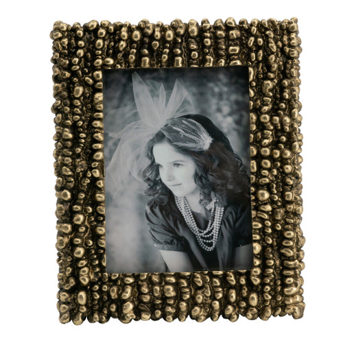 """Vintage Inspired Photo Frame, 5x7"""" Opening"""