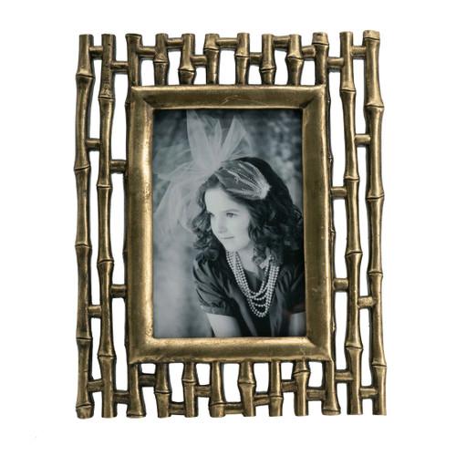 "Bamboo Photo Frame, 4x6"" Opening"