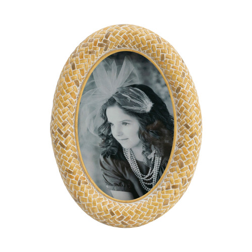 """Oval Photo Frame, 4x6"""" Opening"""