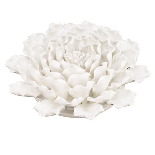 """Handmade Flower Wall Decor Sculpture D9.5x3"""""""