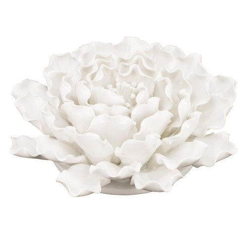 """Handmade Flower Wall Decor Sculpture D7.5x3"""""""