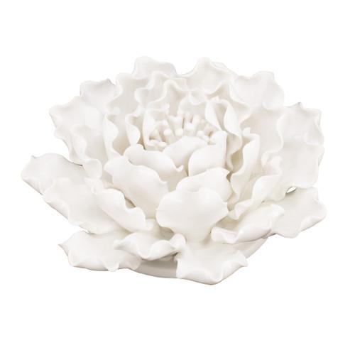 """Handmade Flower Wall Decor Sculpture D6x3"""""""