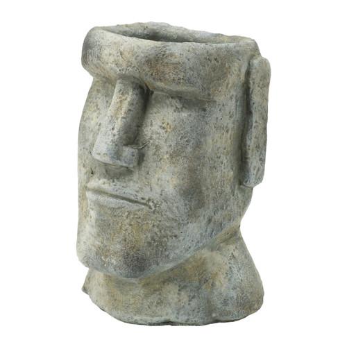 "Easter Island Stone Plante 5x5.5x9"""