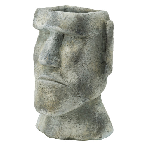 "Easter Island Stone Plante 6.5x5.5x11"""