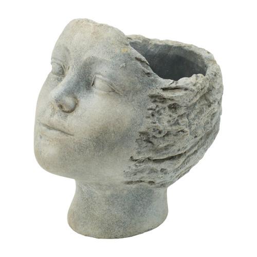 """Resting Profile Head Planter 7x5.5x7.5"""""""