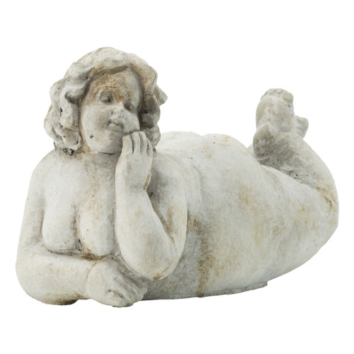 Lounging  Lady Statuette