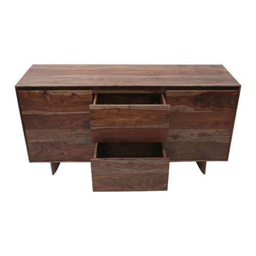 "Sheesham Wood Storage Cabinet 58x18x29.5"""