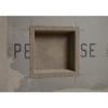 "14"" x 14"" Recess It Shower Niche (item # REC1414) mid installation"