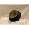 Oatey Round Drain Grate Upgrade in Brushed Nickle