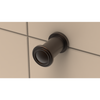 Close up of Tee Hook in Oil Rubbed Bronze