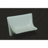 Ceramic Soap Dish in White
