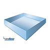 OneLiner square shower pan is available in 4 sizes