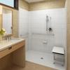 Phoenix barrier free shower kit installed
