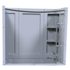 This is a 3 pieces surround unit for the Panama and Fairmount Walk-In bathtubs.