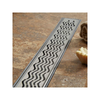 ACO Q-Plus Linear Drain Wavy pattern