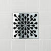 Ebbe Unique Design Grate in Polished Stainless with Splash design