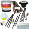 Red Gard Kit with Kirb-Perfect and Oatey ABS three piece drain