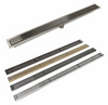 Infinity Linear drains choose of finish, length and grate design
