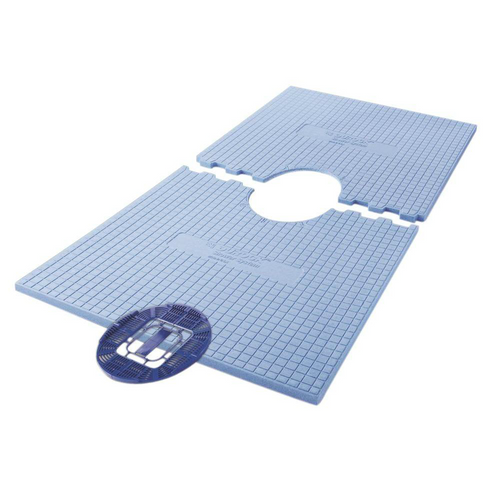 "Durock 32"" x 60"" Shower Tray - Centre Drain"