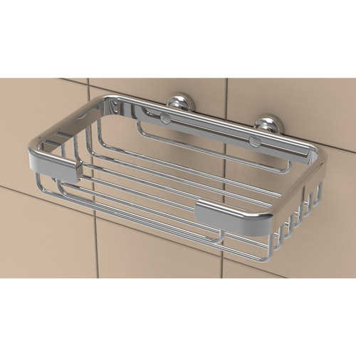 TileWare Soap Basket (T100-001-PC) in Polished Chrome