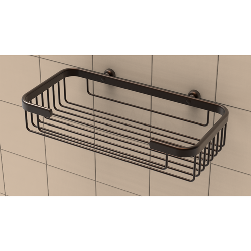 Large Shampoo Basket in Oil Rubbed Bronze