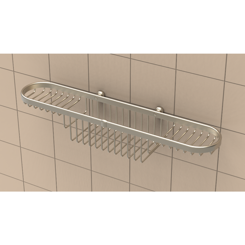Combination Basket in Brushed Nickel