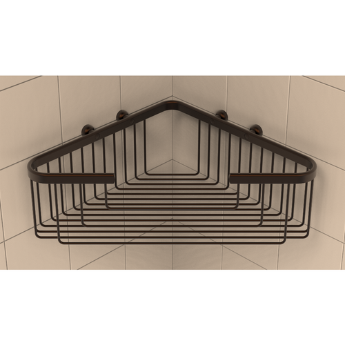 Extra Deep Corner Basket in Oil Rubbed Bronze