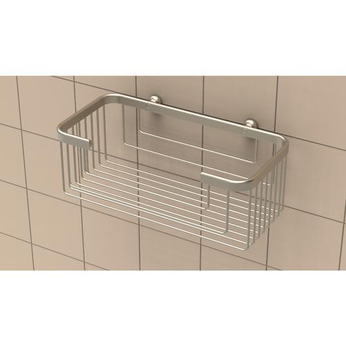 Extra Deep Shampoo Basket in Brushed Nickel