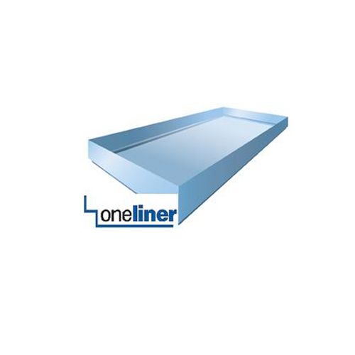 Rectangular OneLiner the one and only structured shower pan liner