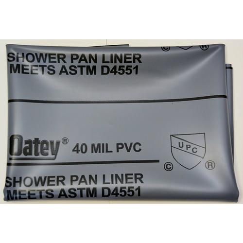 Oatey PVC Shower Liner 40 mil