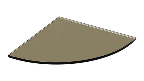 Glass Shelf  - Mink