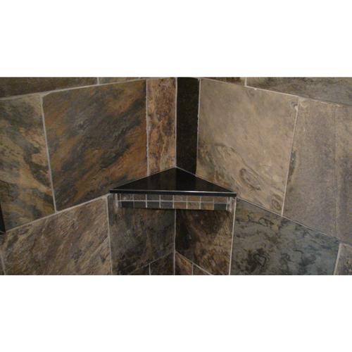 Corner Bench or Shelf Slab in Cultured Granite or Onyx or Marble