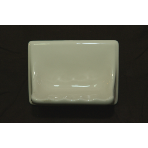 Ceramic Soap Dish in Bone