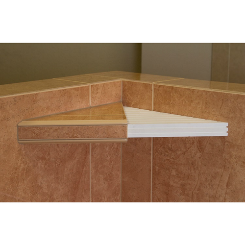 Tile Ready Corner Shelf