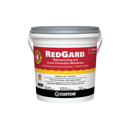 RedGard roll on membrane one gallon