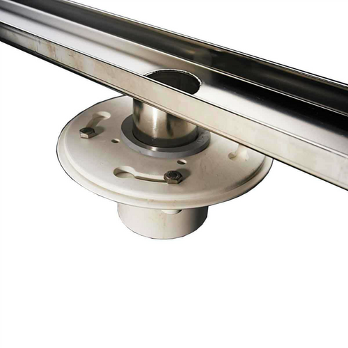 ACO Friction Fit Drain Assembly (93871) shown with Premium linear drain (sold separately)