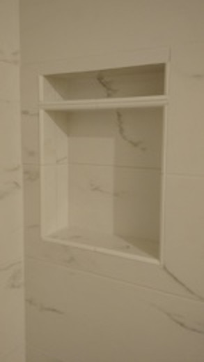 Shower Storage! Add a Recessed Niche... Add One, Stack a Couple, or Mix and Match