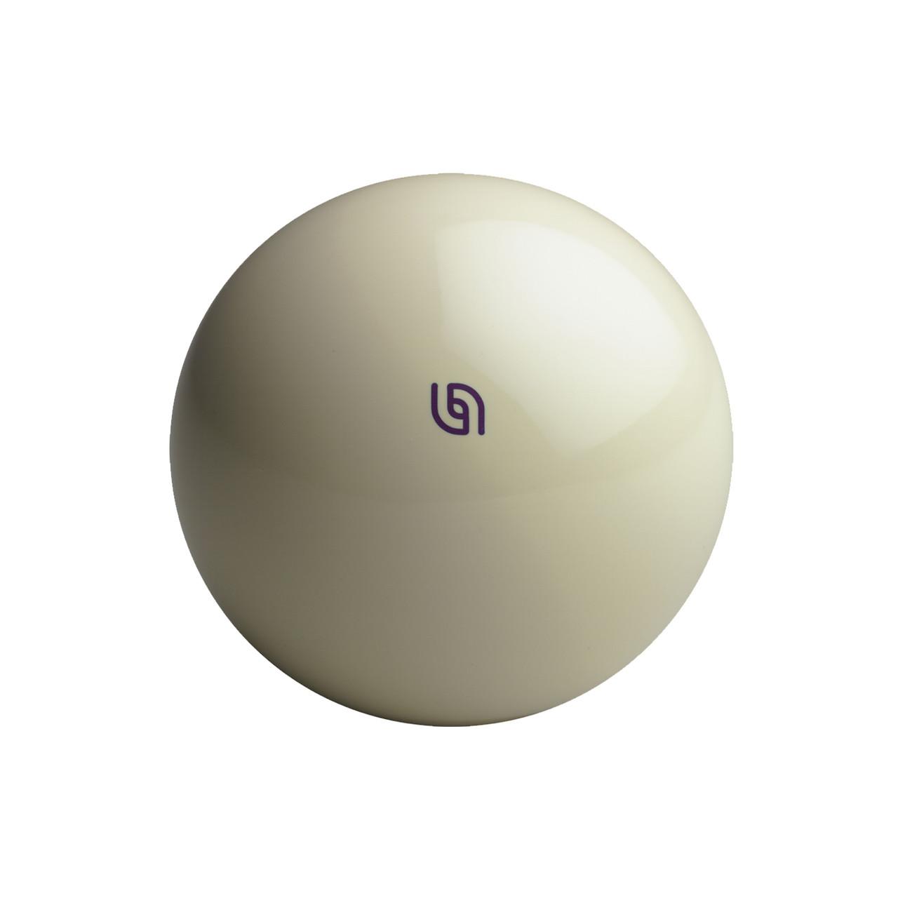 Aramith Duramith Magnetic Cue Ball - Purple Logo