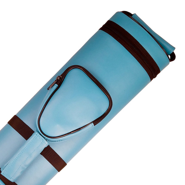 Apex Pool Cue Case 3x5 - Blue - Detail