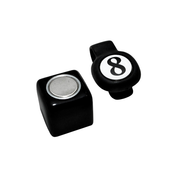Magnetic Chalk Holder - 8 Ball