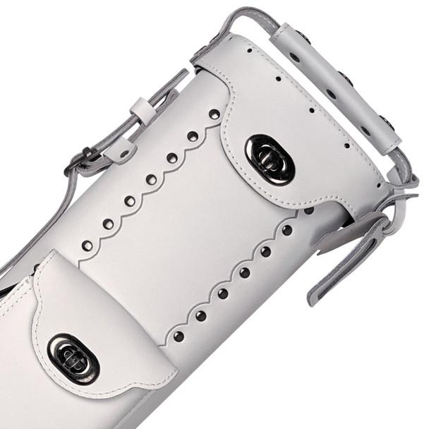 Instroke Leather Cowboy Series - White - 3x5 - Detail