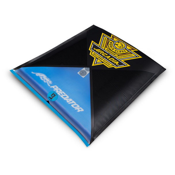 Predator Arcadia Select Pool Table Cloth - Electric Blue - Packaged