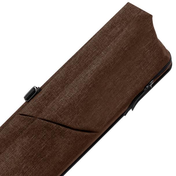 Predator Urbain Brown Hard Pool Cue Case - 3x5 - Detail