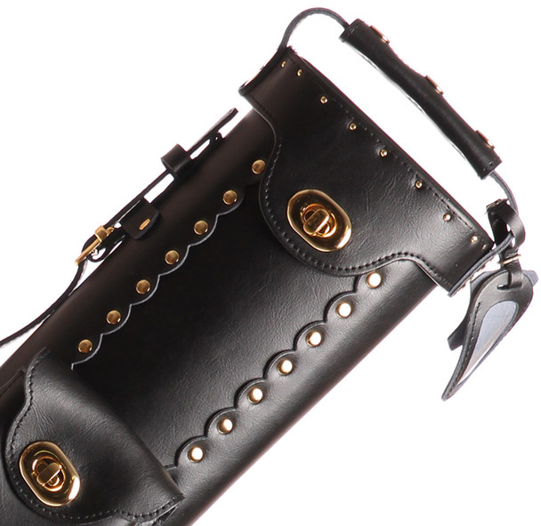 Instroke Original Leather Cowboy Series - Black - 2x3 - Top