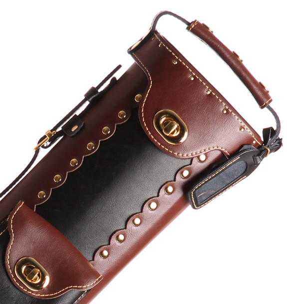 Instroke Original Leather Cowboy Series - Black/Brown/Rev - 2x3 - Top