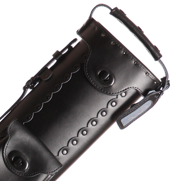Instroke Leather Cowboy Series - All Black - 3x5 - Top
