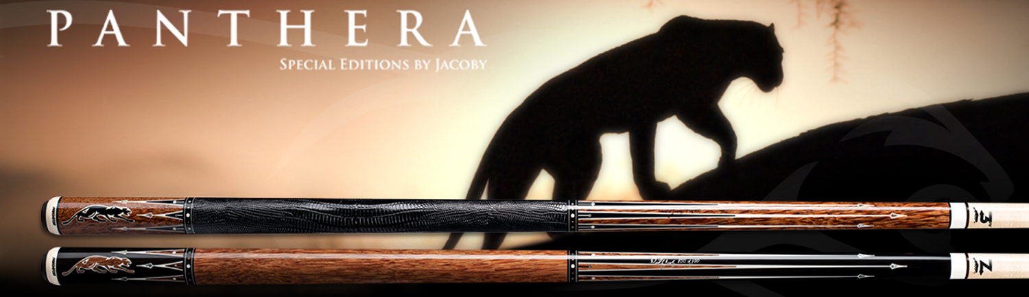 Predator Panthera Special Edition Pool Cues