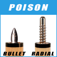 Poison Cue Joints
