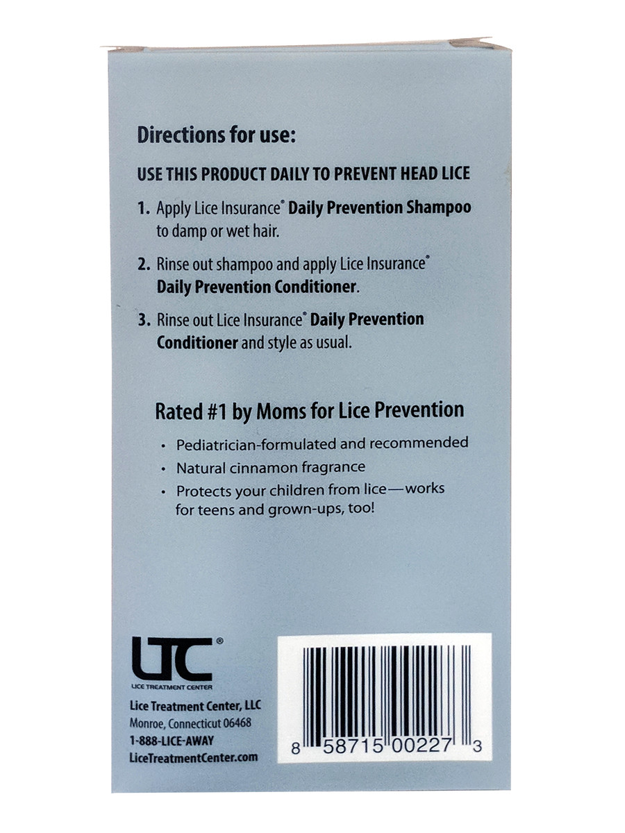 Lice Insurance® Lice Prevention Kit by LTC®